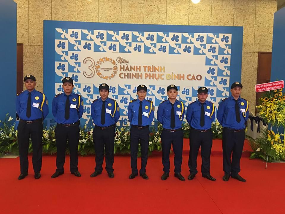 CÔNG TY BẢO VỆ LONG HẢI 24H, đảm nhiệm công tác an ninh nhân dịp kỉ niệm 30 thành lập ĐOÀN XÂY DỰNG HÒA BÌNH.